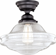 Vaxcel C0177 Huntley Contemporary Oil Rubbed Bronze Home Ceiling Lighting