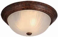 Vaxcel CC1751WP Weathered Patina Flush Mount Ceiling Light Fixture