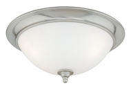 Vaxcel CC35916SN Mont Blanc Satin Nickel Finish 16.25  Wide Home Ceiling Lighting