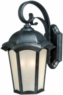 Vaxcel CE-OWD070GT Chloe Traditional Gold Stone Finish 12 Tall Exterior Wall Light Fixture