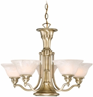 Vaxcel CH30306A Standford Retro Antique Brass Finish 25  Wide Lighting Chandelier