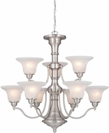 Vaxcel CH30309BN Standford Brushed Nickel Chandelier Lamp