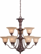 Vaxcel CH30309RBZ Standford Royal Bronze Chandelier Light