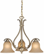 Vaxcel CH35403A-C Monrovia Antique Brass Mini Chandelier Light