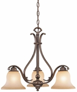 Vaxcel CH35403RBZ-B Monrovia Royal Bronze Mini Lighting Chandelier