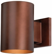 Vaxcel CO-OWD050BZ Chiasso Modern Bronze Finish 7.25  Tall Outdoor Wall Lighting Fixture
