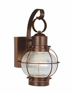 Vaxcel CT-OWD060BBZ Chatham Nautical Burnished Bronze Finish 7.75 Wide LED Exterior Light Sconce