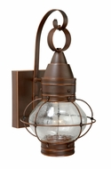 Vaxcel CT-OWD080BBZ Chatham Nautical Burnished Bronze Finish 14  Tall LED Outdoor Lighting Sconce