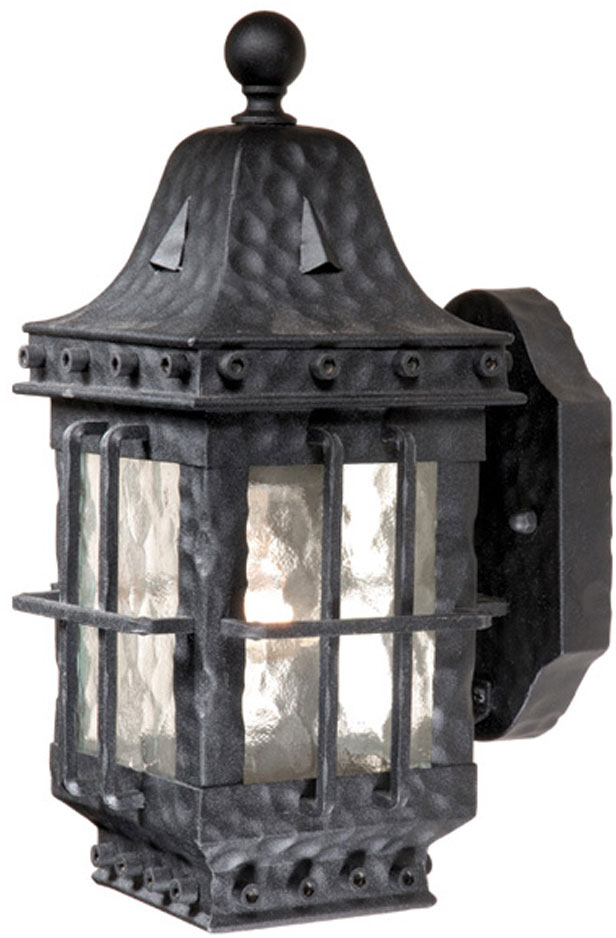 Vaxcel ED-OWD050TB Edinburgh Traditional Textured Black Finish 7u0026nbsp; Wide Exterior Wall Sconce Lighting. Loading zoom  sc 1 st  Affordable L&s & Vaxcel ED-OWD050TB Edinburgh Traditional Textured Black Finish 7 ...