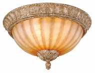 Vaxcel EP-CCU170PP Empire Traditional Phoenician Platinum Finish 8.25  Tall Overhead Lighting Fixture