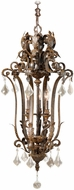Vaxcel EP-PDU180AW Emperor Traditional Aged Walnut Finish 40.75  Tall Hanging Lamp