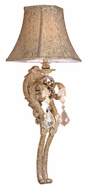 Vaxcel EP-WSS140PP Empire Traditional Phoenician Platinum Finish 10  Wide Wall Light Sconce