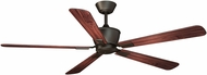 Vaxcel F0014 Geneva Oil Rubbed Bronze Home Ceiling Fan