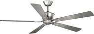 Vaxcel F0016 Geneva Satin Nickel Ceiling Fan Light Fixture