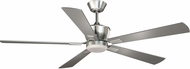 Vaxcel F0017 Geneva Satin Nickel Halogen Home Ceiling Fan