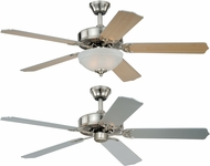 Vaxcel F0027 Essentia Satin Nickel Ceiling Fan