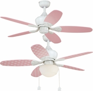 Vaxcel F0035 Alex White Ceiling Fan