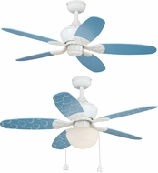 Vaxcel F0037 Alex White Ceiling Fan