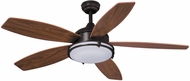Vaxcel F0038 Tali Oil Burnished Bronze LED Home Ceiling Fan