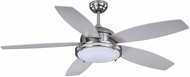 Vaxcel F0039 Tali Satin Nickel LED Fan Light Fixture
