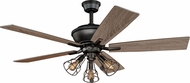 Vaxcel F0042 Clybourn Bronze Home Ceiling Fan