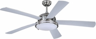 Vaxcel F0052 Tali II Modern Satin Nickel LED Ceiling Fan