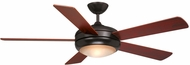 Vaxcel FN52243OBB Rialta Oil Burnished Bronze Finish 52  Wide Halogen Home Ceiling Fan