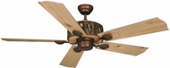 Vaxcel FN52265WP Log Cabin Weathered Patina Finish 52  Wide Home Ceiling Fan