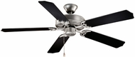 Vaxcel FN52288BS Medallion  Flash Silver Finish 52  Wide Home Ceiling Fan