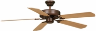 Vaxcel FN52297RZ-34 Medallion Royal Bronze Finish 52 Wide Home Ceiling Fan