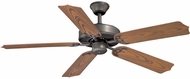 Vaxcel FN52298NB Medallion  Noble Bronze Finish 52  Wide Outdoor Home Ceiling Fan