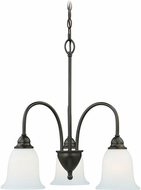 Vaxcel H0066 Concord Oil Rubbed Bronze Mini Chandelier Light