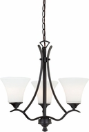 Vaxcel H0094 Cordoba Noble Bronze Mini Chandelier Lamp
