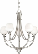 Vaxcel H0125 Grafton Satin Nickel Chandelier Lamp
