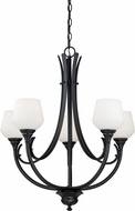 Vaxcel H0126 Grafton Oil Rubbed Bronze Chandelier Light