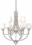 Vaxcel H0127 Grafton Satin Nickel Ceiling Chandelier