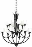 Vaxcel H0130 Grafton Oil Rubbed Bronze Chandelier Lighting
