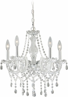 Vaxcel H0150 Audrey Chrome Mini Chandelier Light