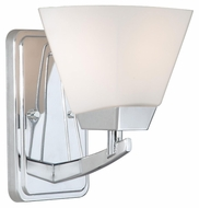 Vaxcel KD-VLU001CH Kendall Chrome 8.75  Tall Light Sconce