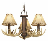 Vaxcel LK33053WP Lodge Country Weathered Patina Finish 10 Tall Fan Light Fixture