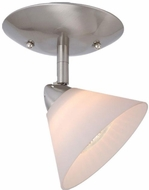 Vaxcel ML-CCD002SN Milano Contemporary Satin Nickel Halogen Spot Light
