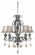 Vaxcel MM-CHS005AE Montmarte Traditional Athenian Bronze Finish 28.75  Tall Chandelier Light