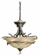 Vaxcel MY-CFU180AA Monterey Rustic Autumn Patina Finish 13  Tall Ceiling Light Pendant