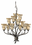 Vaxcel MY-CHU012AA Monterey Country Autumn Patina Finish 32.5 Wide Chandelier Light