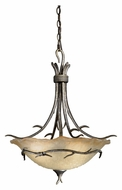 Vaxcel MY-PDD200AA Monterey Country Autumn Patina Finish 18.25  Wide Drop Ceiling Light Fixture