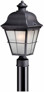 Vaxcel NH-OPU080OR New Haven Traditional Oil Rubbed Bronze Finish 8 Wide Outdoor Post Light Fixture