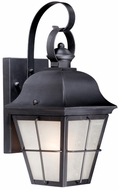 Vaxcel NH-OWD080OR New Haven Traditional Oil Rubbed Bronze Finish 9 Wide Outdoor Lighting Wall Sconce