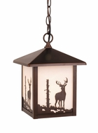 Vaxcel OD33586BBZ Bryce Burnished Bronze Finish 11  Tall Outdoor Pendant Light