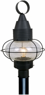 Vaxcel OP21835TB Chatham Nautical Textured Black Finish 22.5 Tall Exterior Post Light
