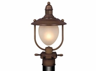 Vaxcel OP25595RC Orleans Antique Red Copper Finish 16  Tall Exterior Post Lighting